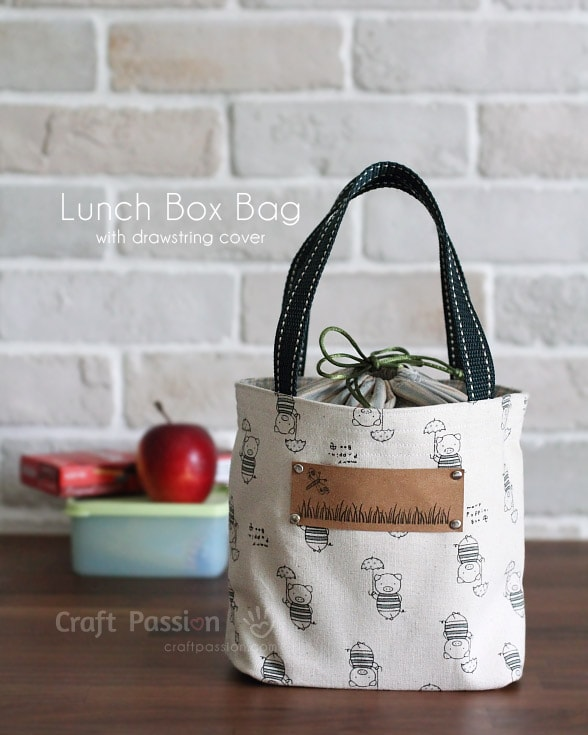 Lunch Box Sewing Pattern