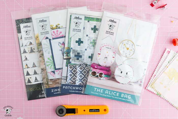 Sewing Patterns from Melissa Mortenson of Polka Dot Chair - so many cute and fun sewing and quilting patterns!
