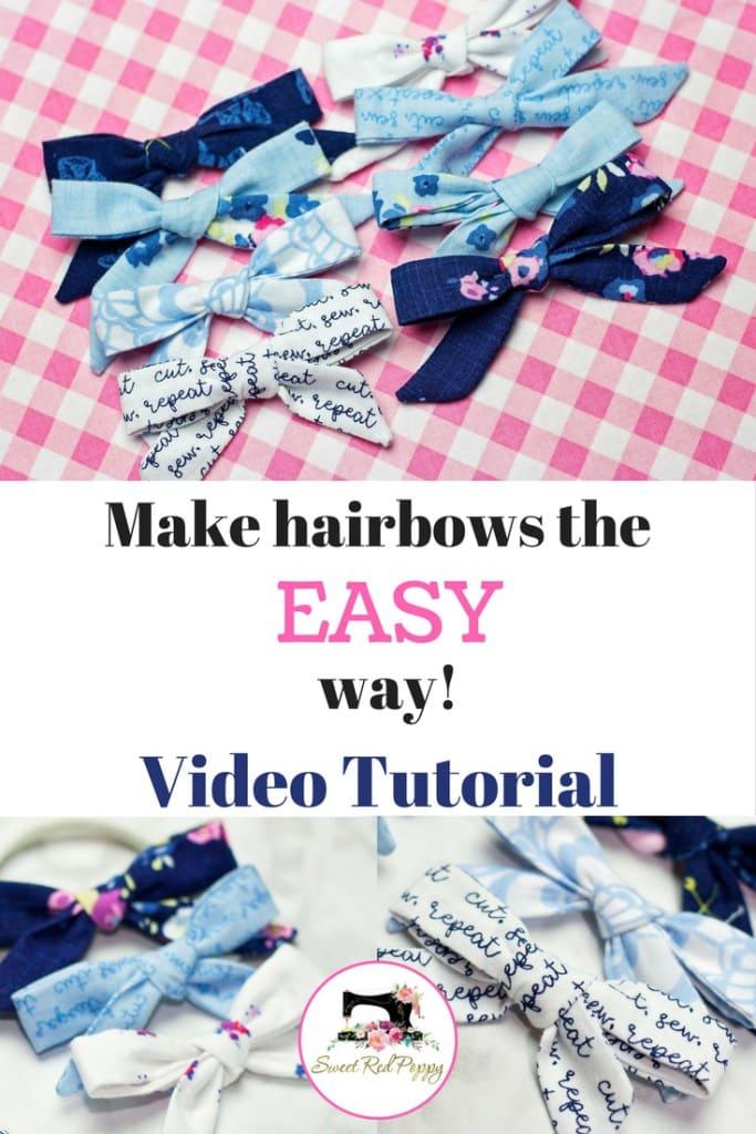 Easy DIY Hair Bows