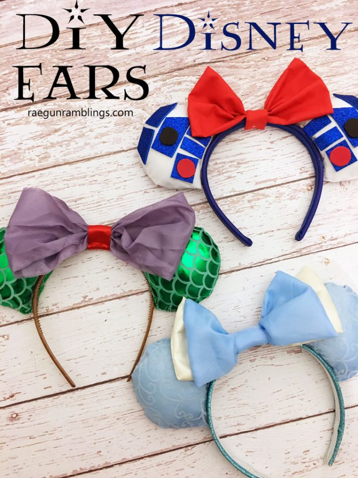 How to make your own Disney Mickey Ears