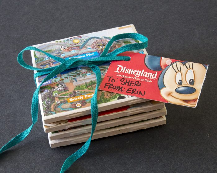 How to turn old Disney Park maps into coasters