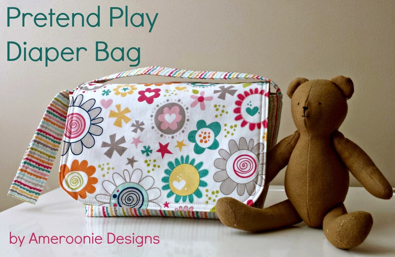 Tutorial for a baby doll diaper bag