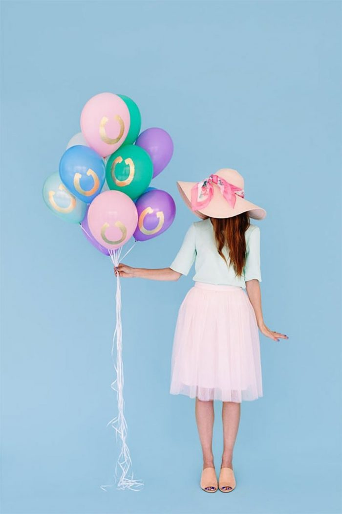 DIY Kentucky Derby Party Decorations