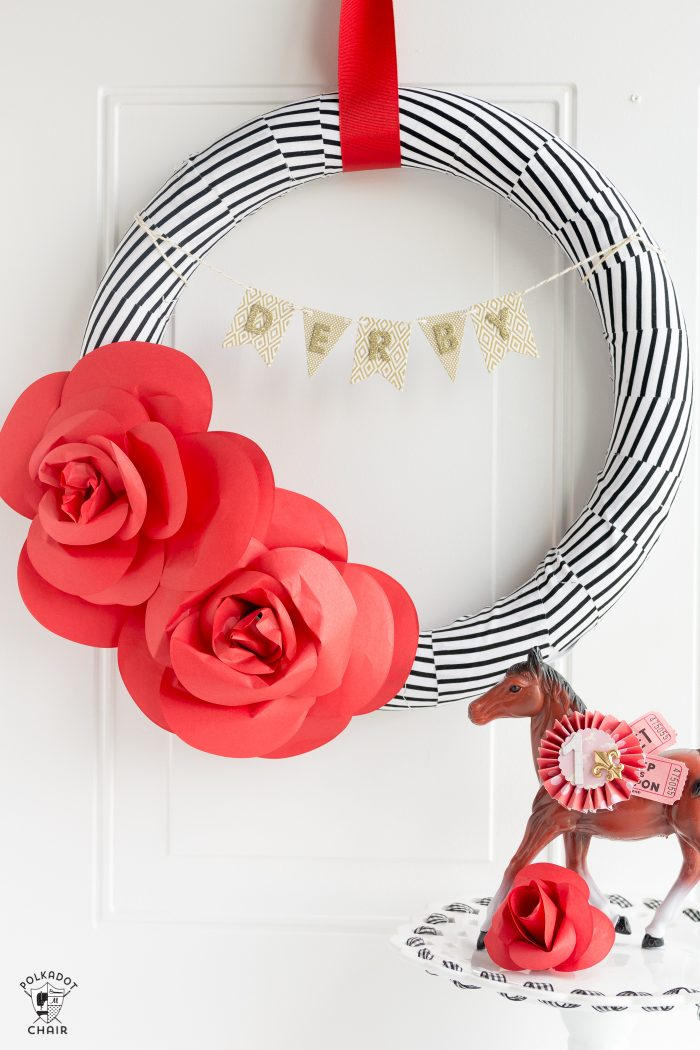 DIY Kentucky Derby Wreath
