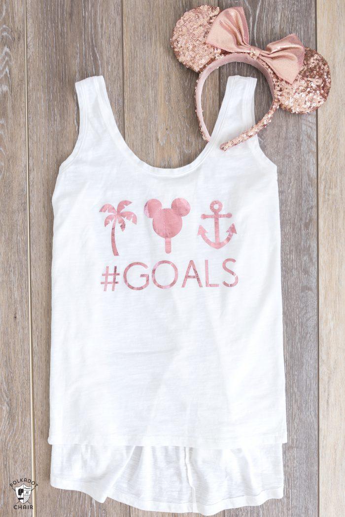 GOALS Disney Cruise Shirt