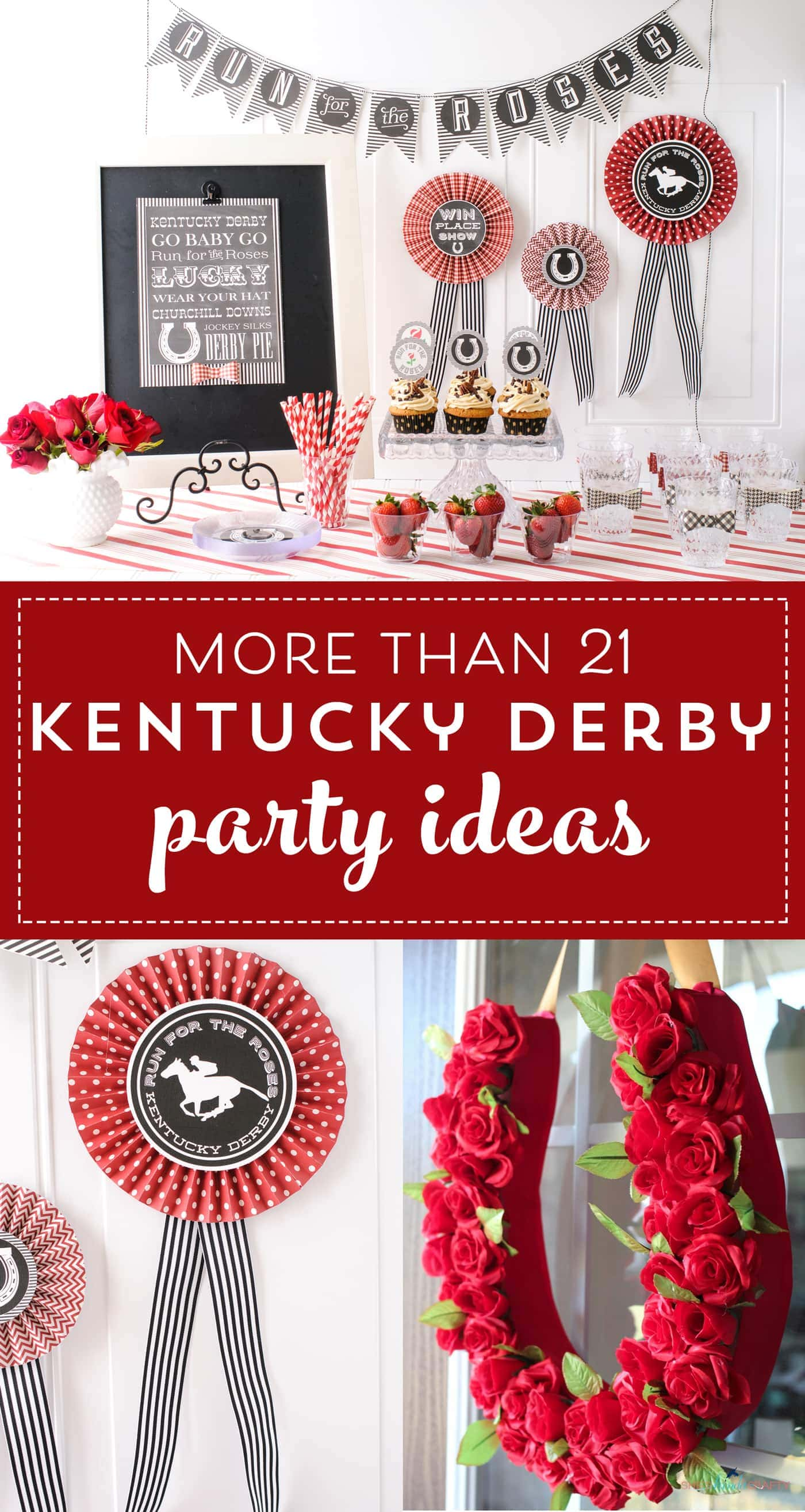 21 Adorable Kentucky Derby Party Ideas The Polka Dot Chair