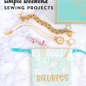 5 Simple Weekend Sewing Projects