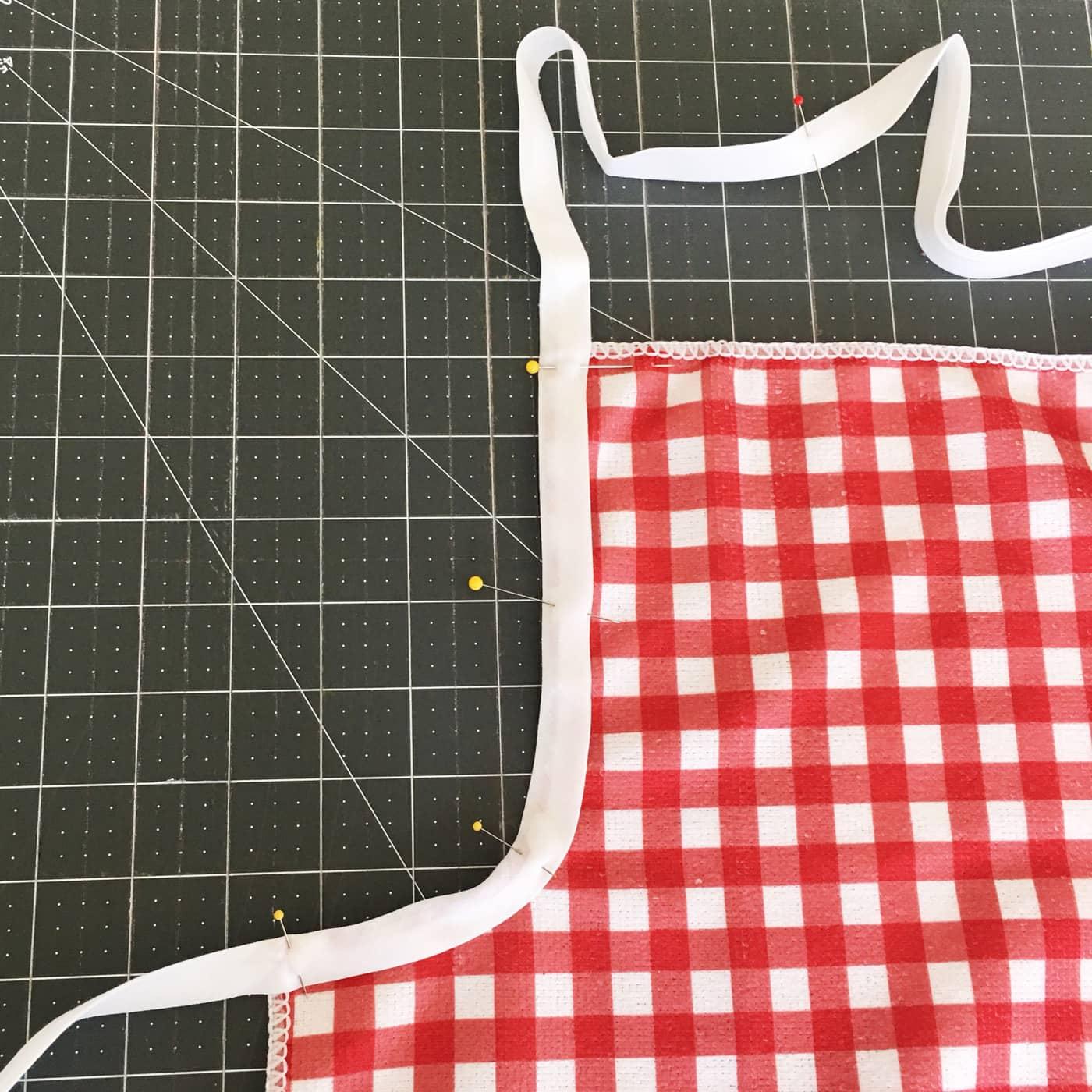How to add bias to kids apron