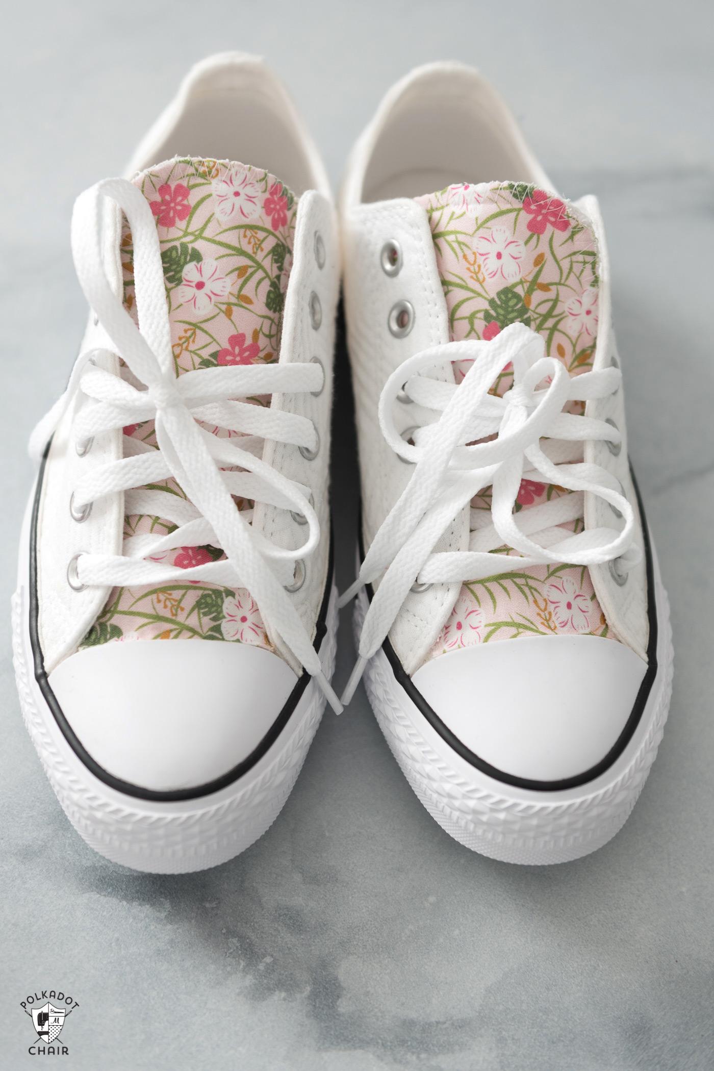 floral chucks