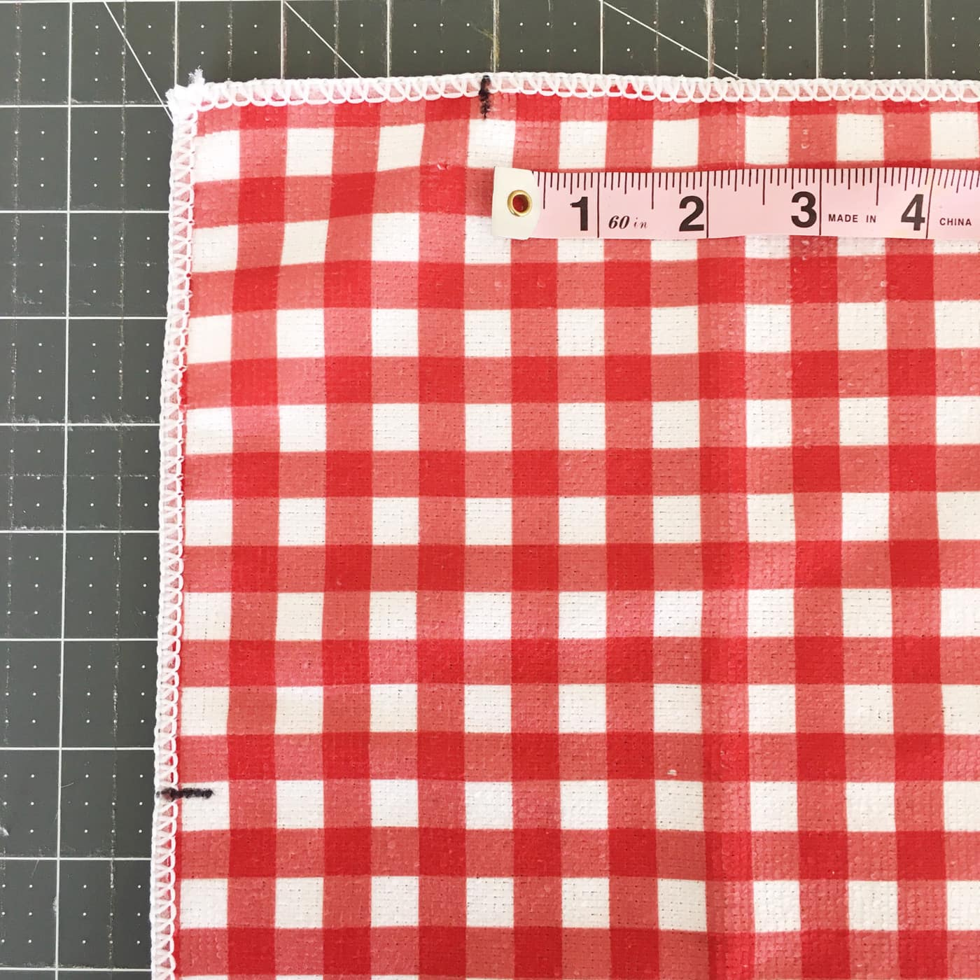 cutting layout for kids bbq apron pattern