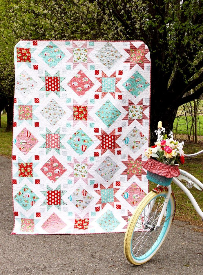 quilt and bike