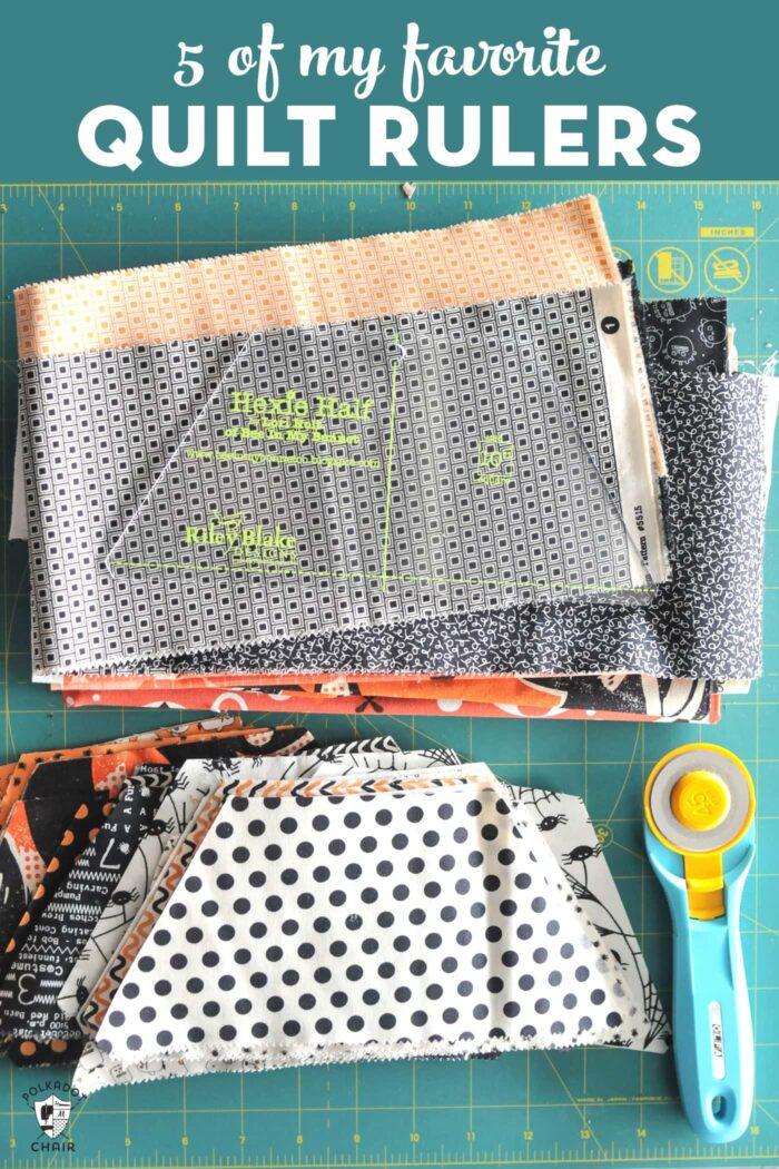 favorite quilt rulers