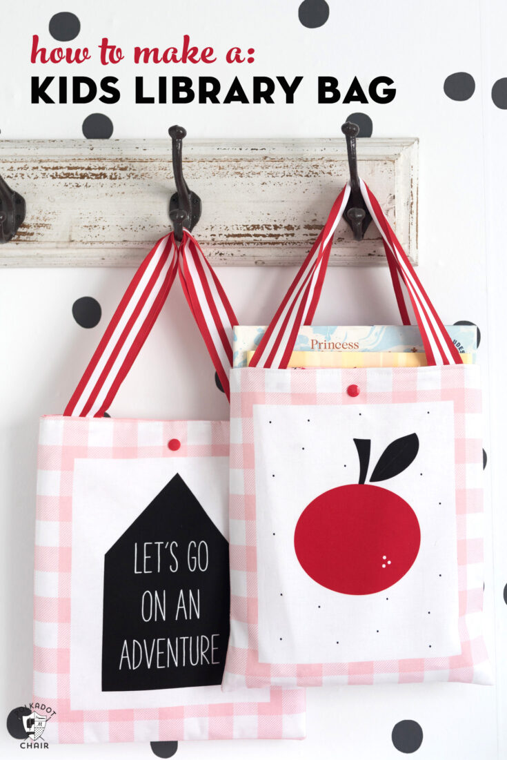 Cute & Simple Kids Library Bag Pattern