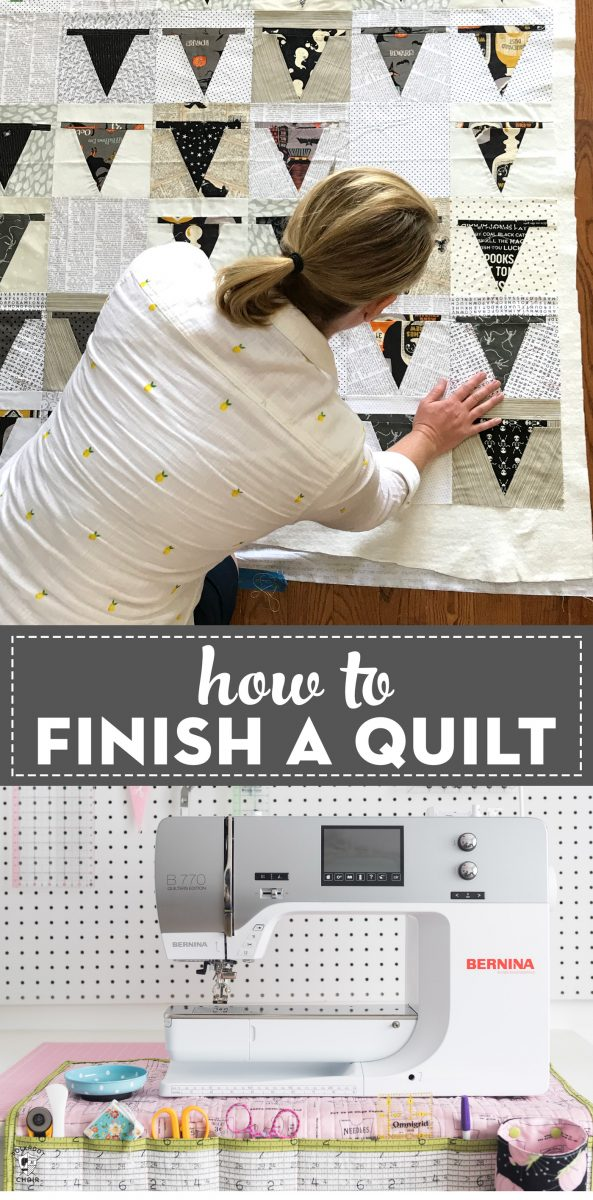finishing a quilt