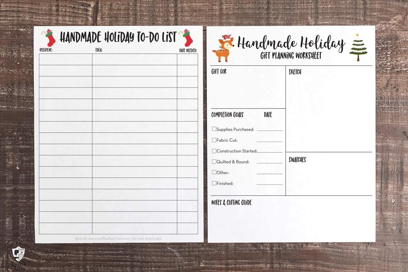 It is a photo of Free Printable Christmas Planner pertaining to sticker