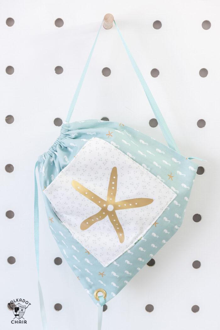 drawstring bag pattern