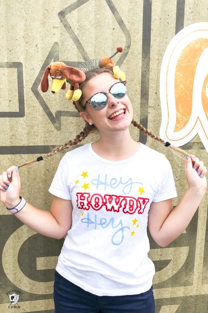 Toy Story inspired DIY Disney t shirt