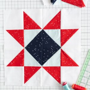 Star Quilt Block of the Month