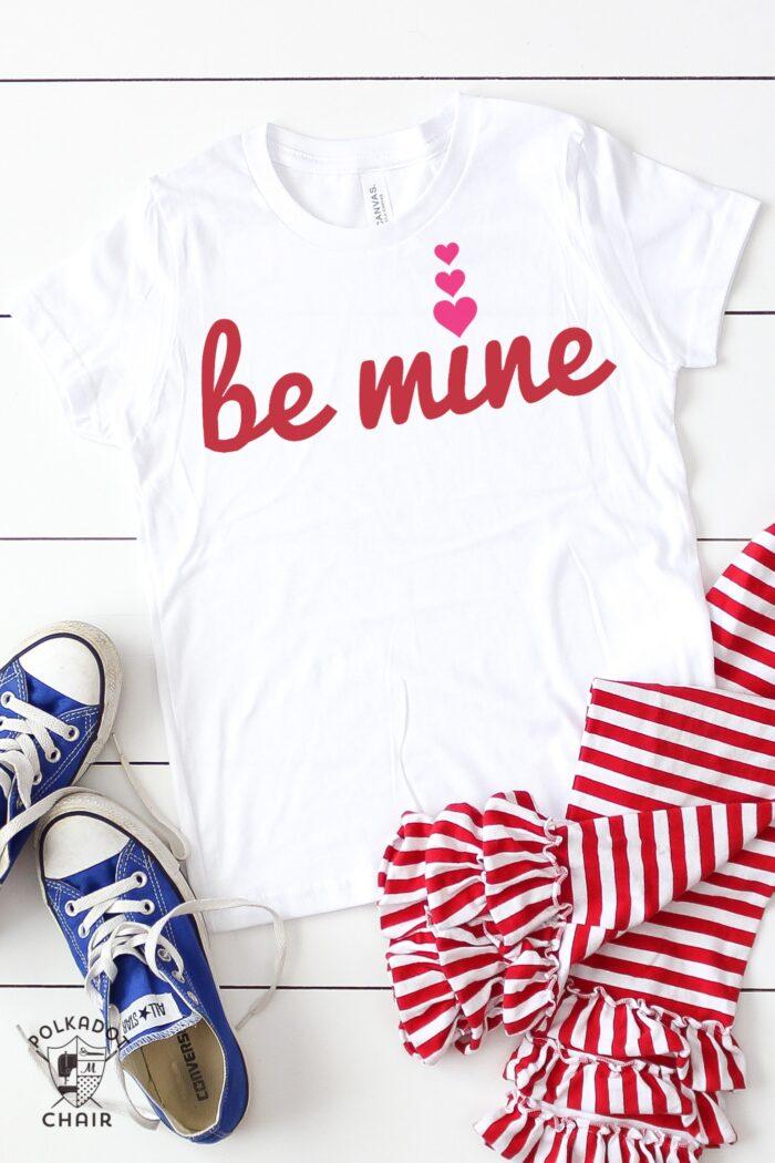 be mine Valentine's Day t-shirt