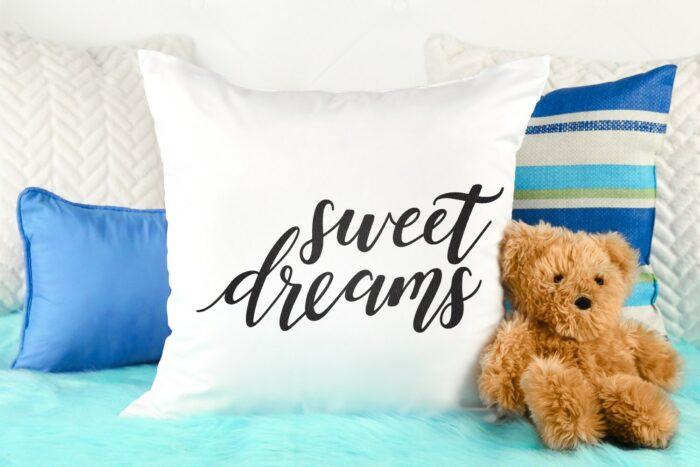 sweet dreams pillow svg