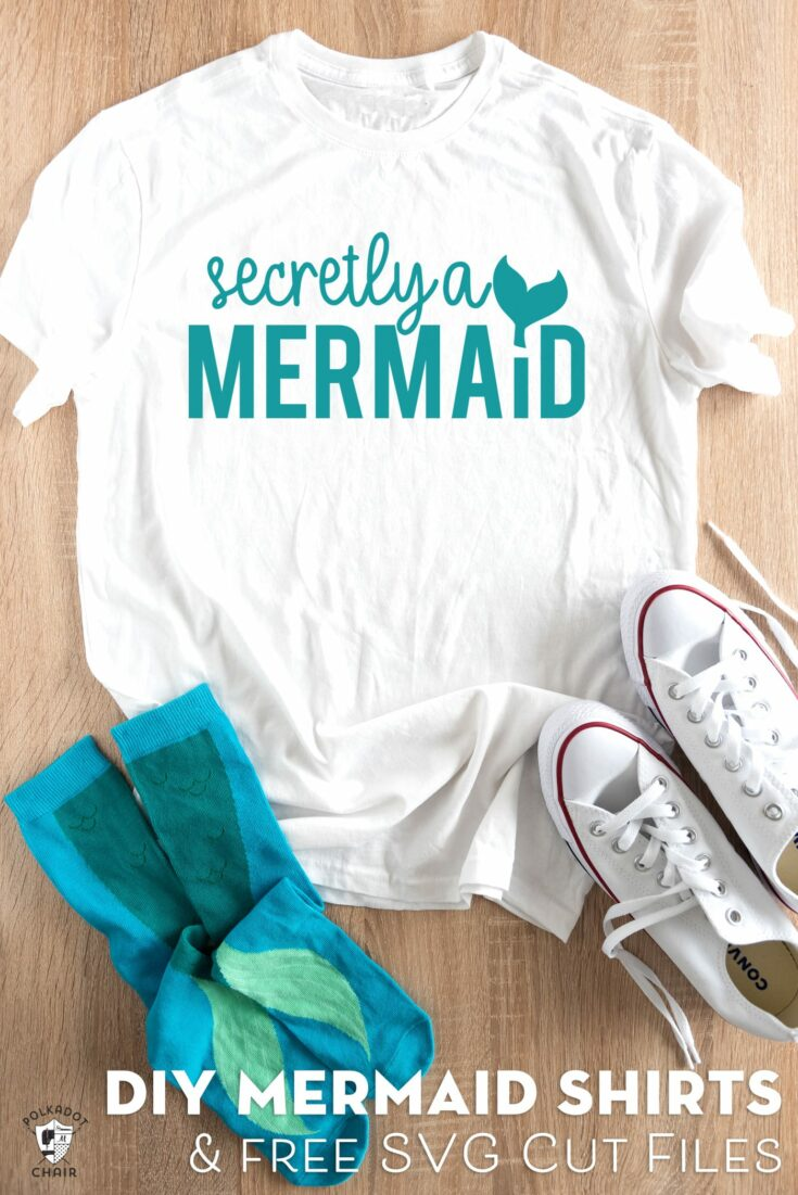 Mermaid SVG Cut Files for Cricut Machines