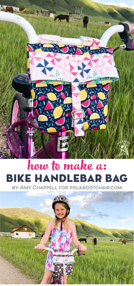 DIY Bike Handlebar Bag