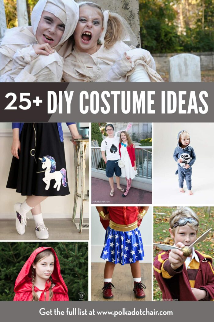 Ideas for Costumes for Kids to DIY