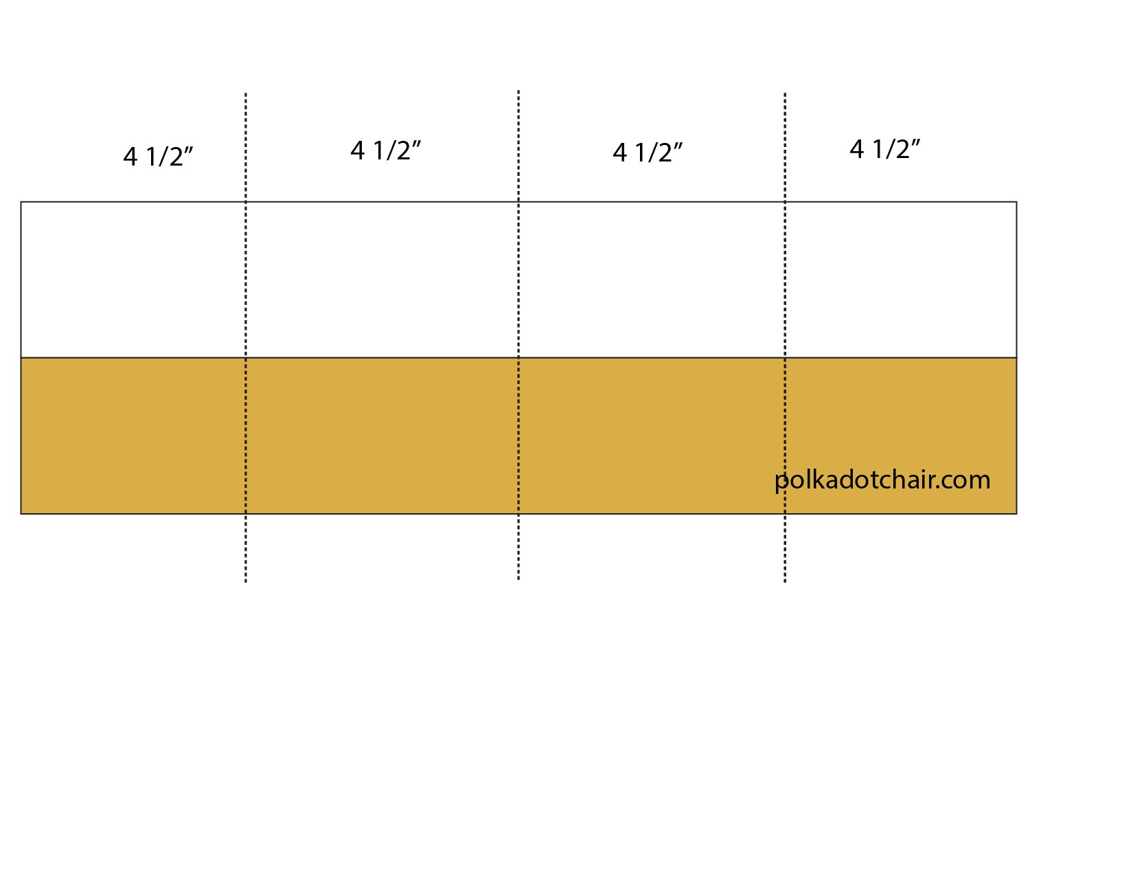 Strip piecing for Churn Dash Block