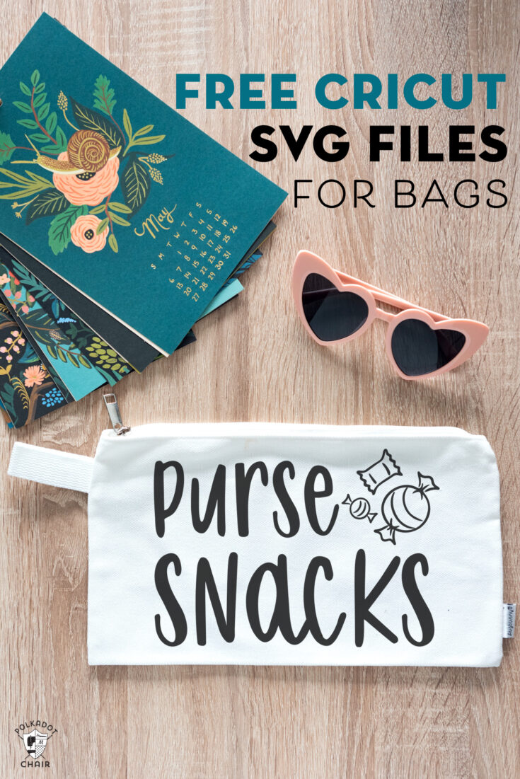 Cricut SVG Files perfect for Bags