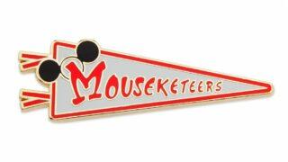Mouseketeers Pennant Pin