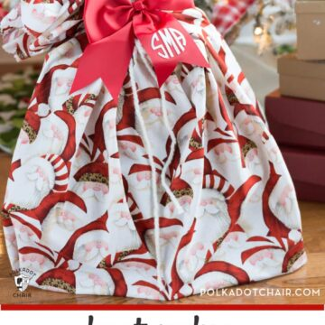 Santa Sack under Christmas Tree