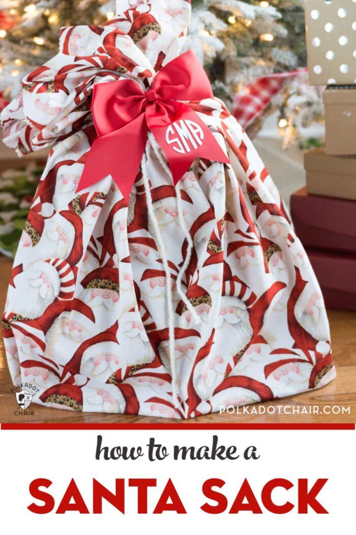 Santa Sack under Christmas Tree