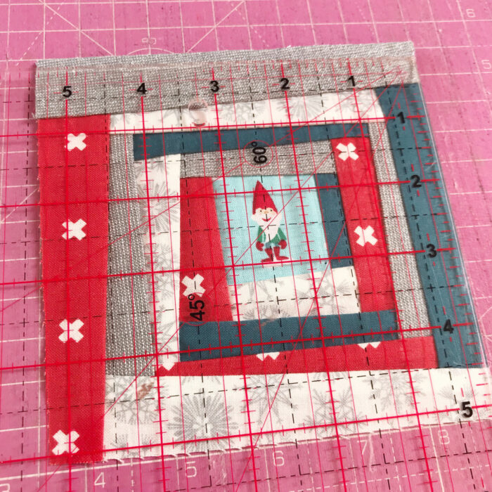 squaring up improv quilt block