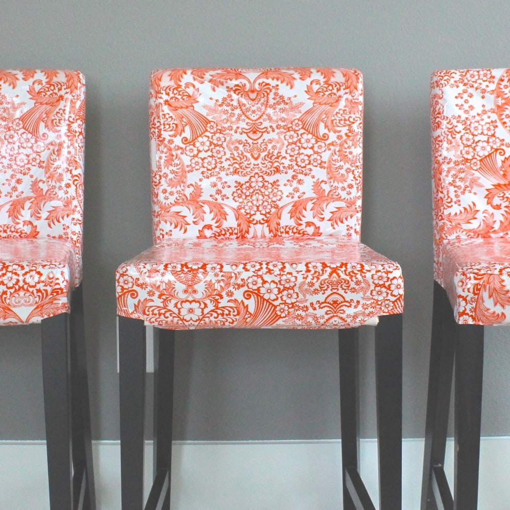 Oilcloth Chairs