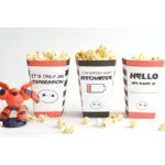 Big Hero 6 Popcorn Boxes