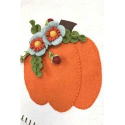 Felt Pumpkin Pattern