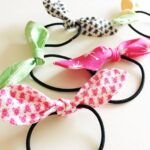 Knotted Hair Tie Template