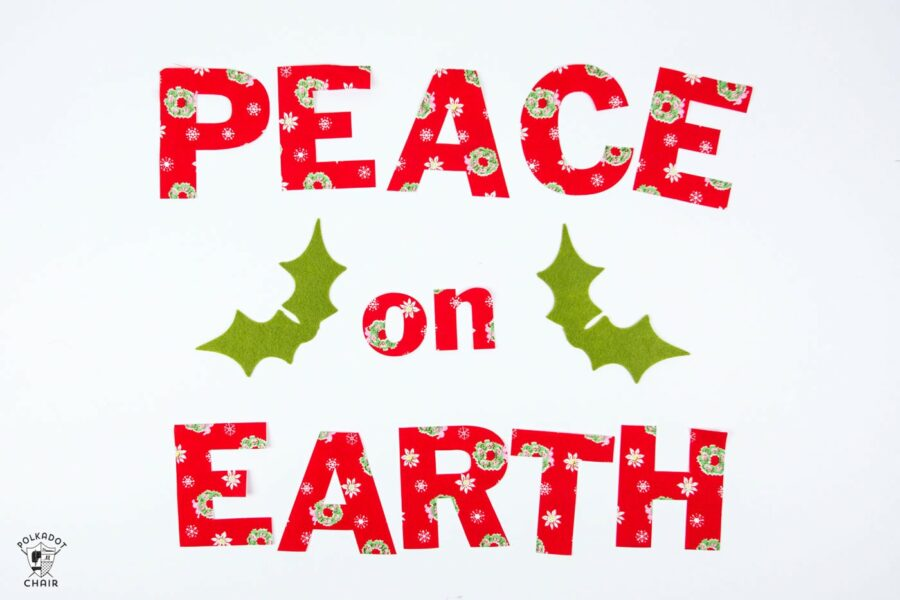 Peace on Earth svg Cut File