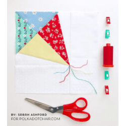 Kite Foundation Paper Piecing Pattern