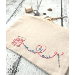 Sew a Needle Pulling Thread