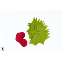 Holly Berry Cut File