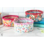 Round Fabric Basket Bottom Piece