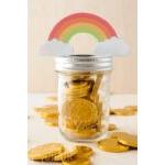 Rainbow & Pot Of Gold Tags Printable