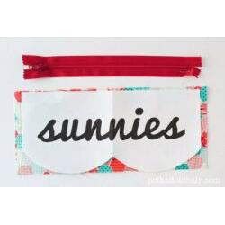 Sunnies Sunglasses Case Pattern