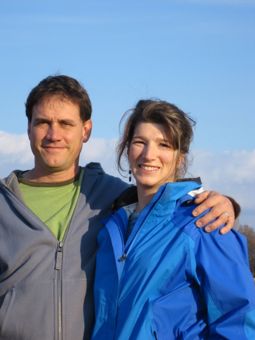 Peter Allemang and Erin Gundy