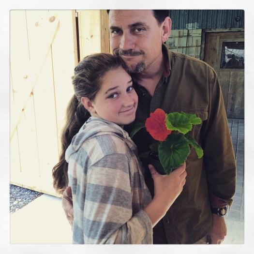 Peter and Talia Allemang