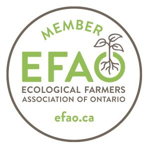 Ecological Farmers Association of Ontario Logo EFAO