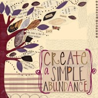 Create a Simple Abundance wall art by Katie Doucette