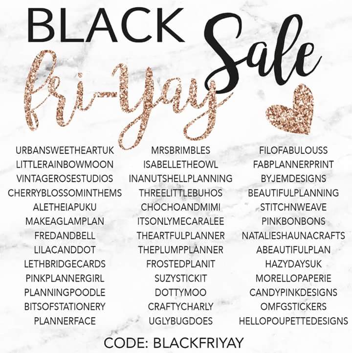 Black Friday sale code