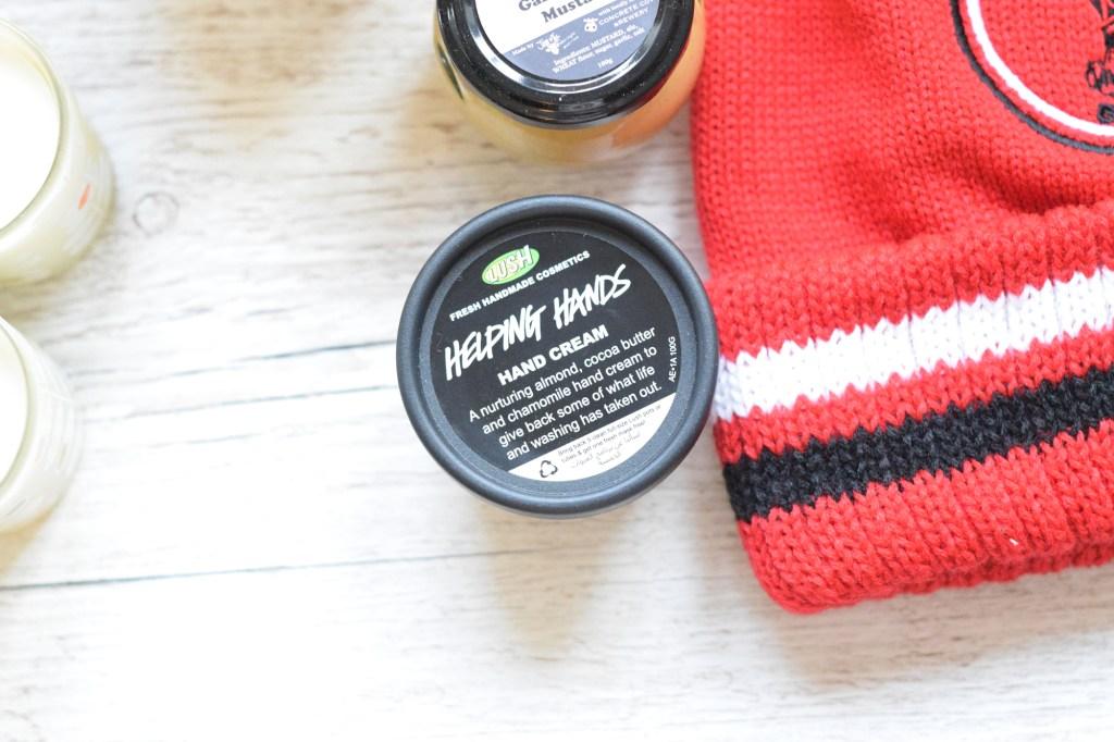 lush hand cream